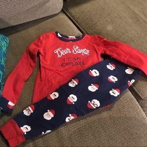 Other - Christmas Pajamas Santa Claus 5T